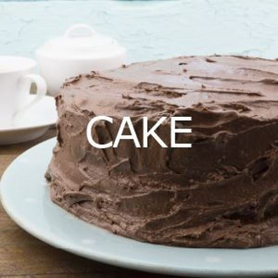 """Picture of 8"""" Double Layer Cake"""